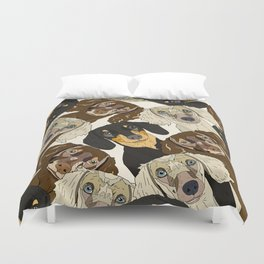Doxie Nation Duvet Cover