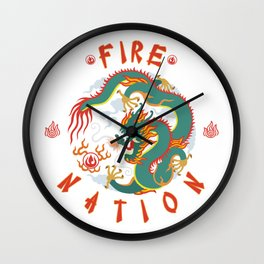 Avatar : The Fire Nation Wall Clock
