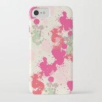 splatter iPhone & iPod Cases featuring Splatter by C Designz