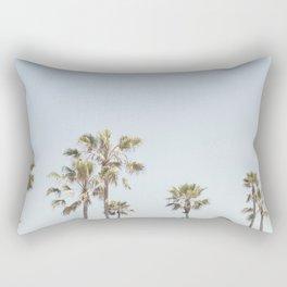 California Palm Trees II Rectangular Pillow