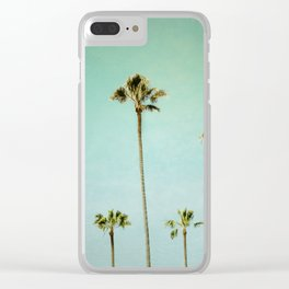 Summer Lovin Clear iPhone Case