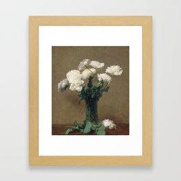 Henri Fantin Latour - Poppies Framed Art Print