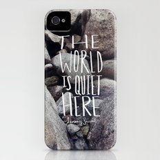 Quiet Slim Case iPhone (4, 4s)