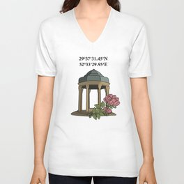 Tomb of Hafiz Unisex V-Neck