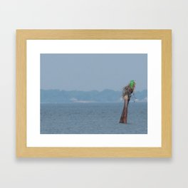 Chesapeake Bay Marker Framed Art Print