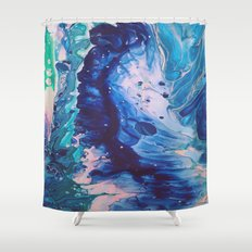Aquatic Meditation Shower Curtain