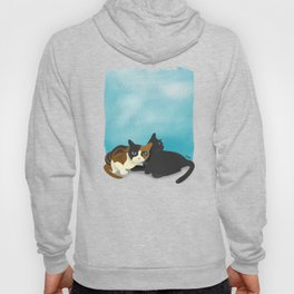 Two cats Hoody
