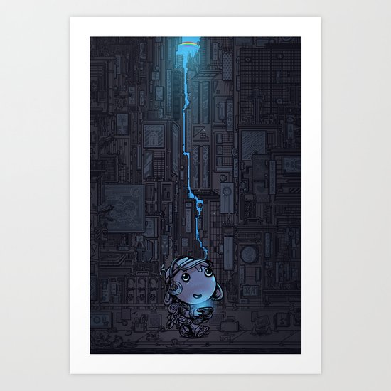 one day Art Print