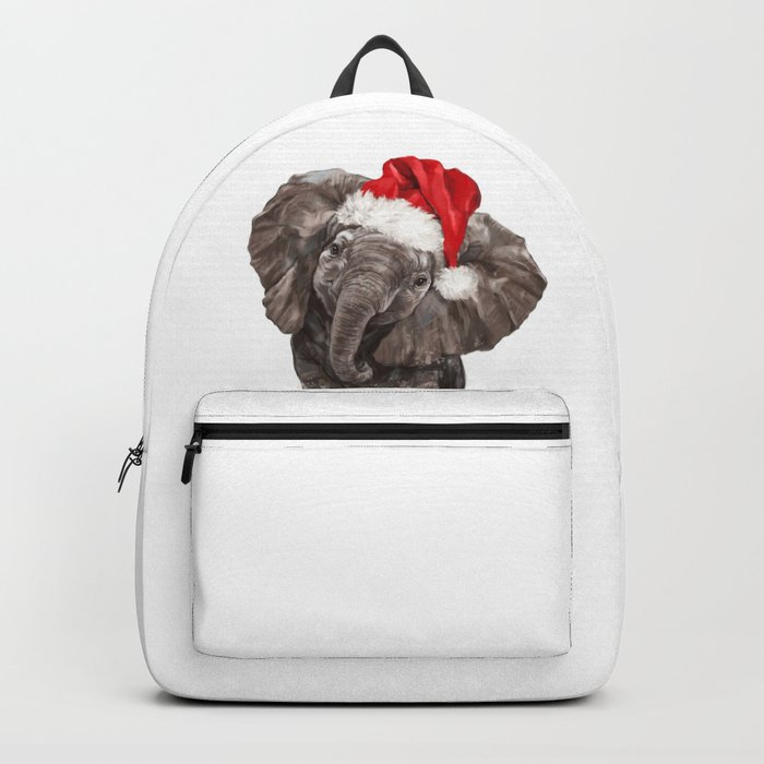 Christmas Baby Elephant Backpack