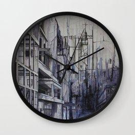 Invisible city Wall Clock