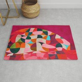 shapes abstract Rug