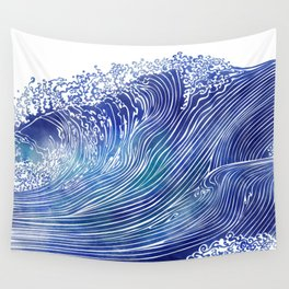 Pacific Waves Wall Tapestry