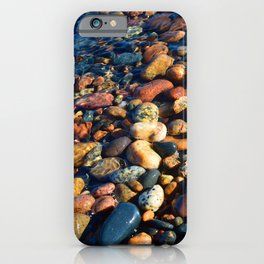 Lake Superior Rocks iPhone Case