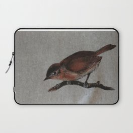 A red Bird Laptop Sleeve