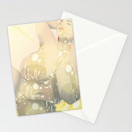 BBW Pin Up - Golden Stationery Cards