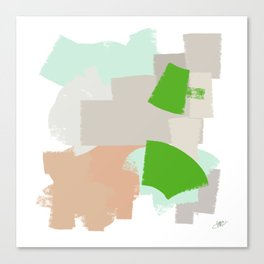 Summer block Canvas Print