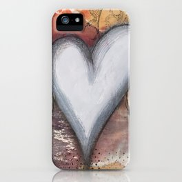 Heart Wings iPhone Case