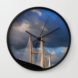 Bridging the Gap Wall Clock