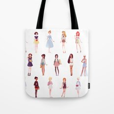 casual princesses - group Tote Bag