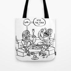 the ultimate joke - black & white Tote Bag