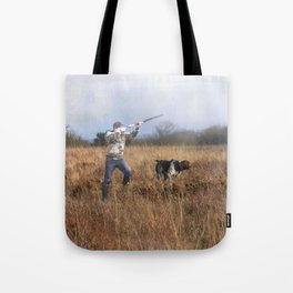 Out for a shot Tote Bag