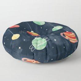 Joy to the Universe Floor Pillow