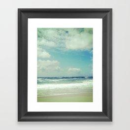 BEACH IN HARMONY I Framed Art Print
