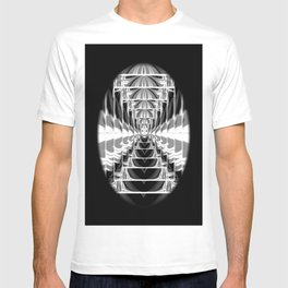 Black+White Abstract.Modern. T-shirt