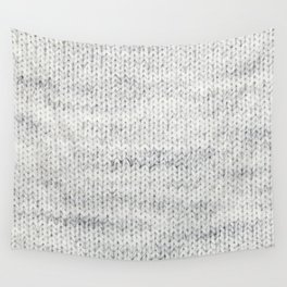 Gray Wool Wall Tapestry