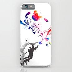Nature's comeback graffiti iPhone 6s Slim Case