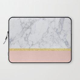 Marble Peach Laptop Sleeve