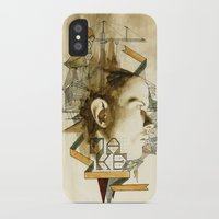 architect iPhone & iPod Cases featuring The Architect by Joshua Kulchar