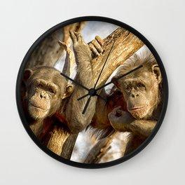 Western Lowland Gorillas Wall Clock