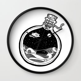 The Killing Moon - coffin version Wall Clock