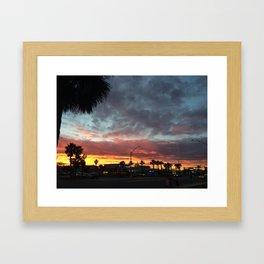8:00 North Framed Art Print