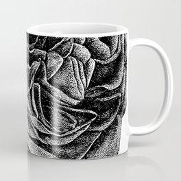 Vintage Rose. Dot work. Coffee Mug