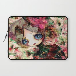 Creature in Bloom Laptop Sleeve