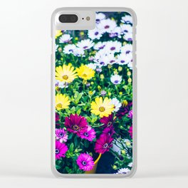 Flowers 3 Clear iPhone Case
