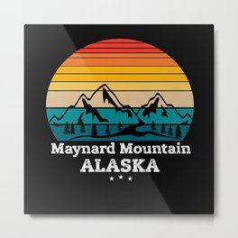 Maynard Mountain Alaska Metal Print