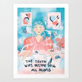Art Style Art Print