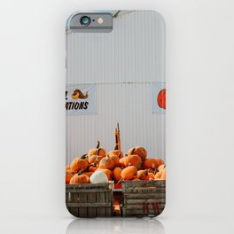 Pick Your Own Pumpkins iPhone Case