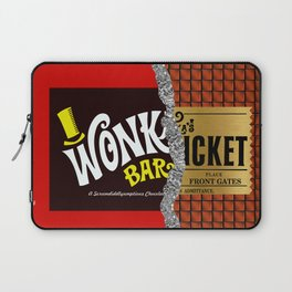 Willy Wonka Bar Laptop Sleeve