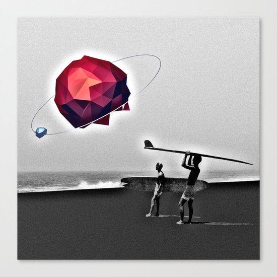 Square Beach Canvas Print