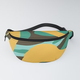 Pocahontas - Colorful Abstract Camouflage Art Fanny Pack