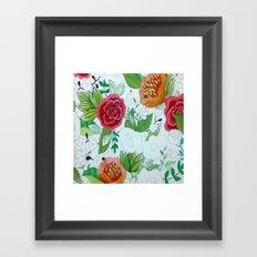 WIP Framed Art Print