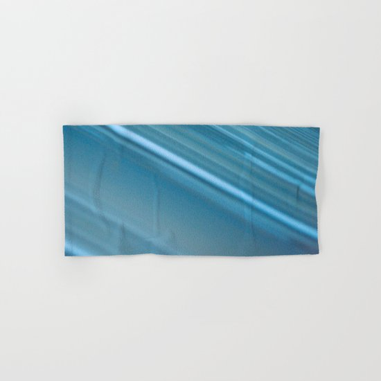 LINES OF BLUE #1 #decor #art #society6 Hand & Bath Towel