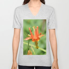 Columbine in the Breeze Unisex V-Neck