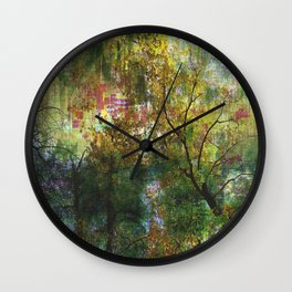 Crazy Forest II Wall Clock