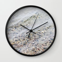 Clean Lake Water Wall Clock