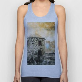 The old windmill Unisex Tank Top